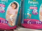 Трусики Pampers Для девочек